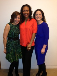 Jessica, L2 PR's Letena Lindsay and Masthead Media's Julie Hochheiser Ilkovich (we all used to work at Hearst together)